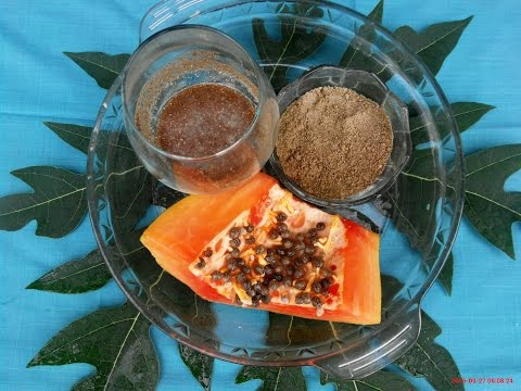 How To Lose Weight Fast Seed Papaya! Lose Weight Fast With Seeds Of Papaya!