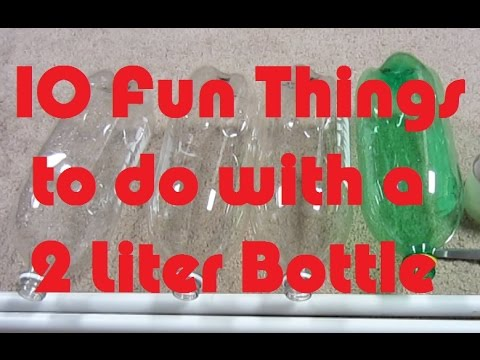 10 Fun Things to do with a Plastic Bottle - Soda Bottle Crafts - Fun Life Hacks for Kids