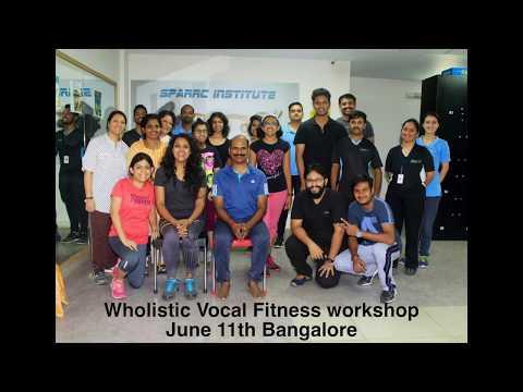 Wholistic vocal fitness workshop highlights