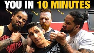 10 Minute Leg Workout (METABOLIC MASSACRE!)