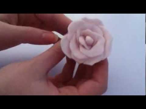 Flower Tutorial: Air Dry Clay !(