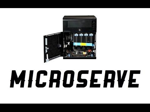 HP ProLiant G7 N54L MicroServer Server System