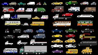 Street Vehicles Collection - Cars and Trucks - The Kids