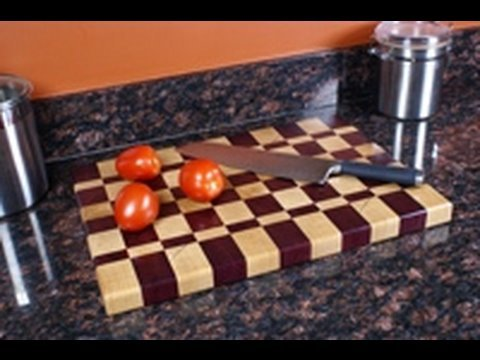 7 - How to Make an End Grain Cutting Board (Part 1 of 2)