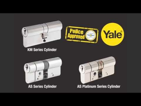 How to fit a Yale euro profile cylinder lock