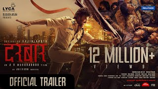 DARBAR (Hindi) - Official Trailer | Rajinikanth | A.R. Murugadoss | Anirudh | In Cinemas Now