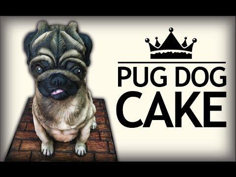 How to make a Pug Dog CAKE!