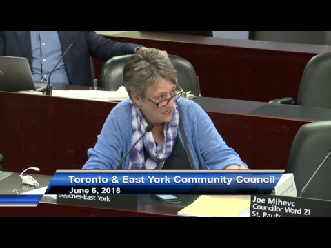 Toronto and East York Community Council - June 6, 2018 - Part 2 of 2