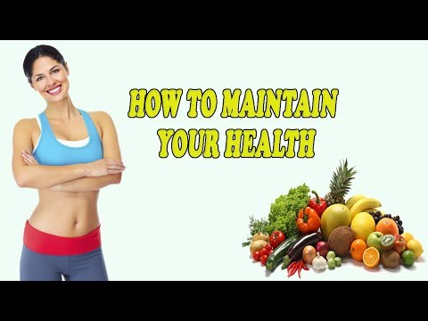 How to Maintain Your Health | Tips for Starting a Healthy Lifestyle! | Good Health Tips