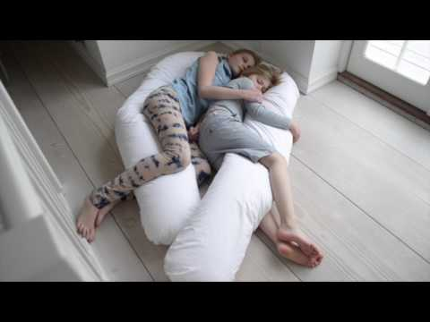 Fossflakes Superior Comfort U Body Pillow