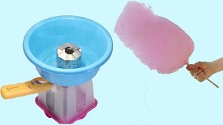 كيف تصنع آلة غزل البنات ب(20) ريال