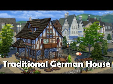 Sims 4 | House Building | Traditional German House
