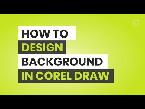 How to Create Backgrounds for Visiting Cards In Corel Draw