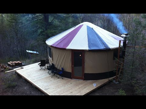 Could You Live In a Yurt?