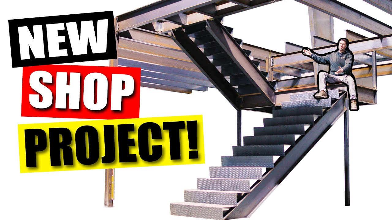 Overkill Switchback Staircase build