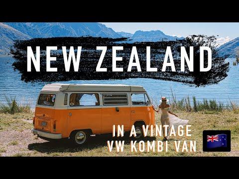 TRAVELLING NEW ZEALAND in a VW KOMBI!!