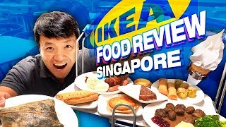 Brunch in Singapore IKEA | FRIED CHICKEN, Nasi Lemak & BEST Dessert!