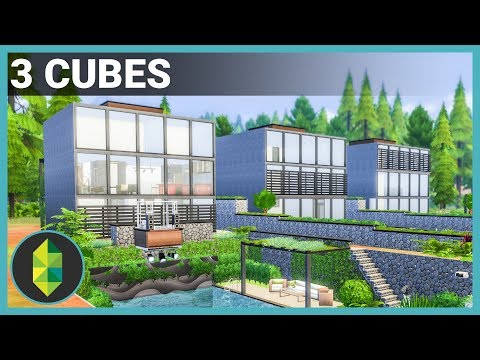 3 CUBES - The Sims 4 House Build