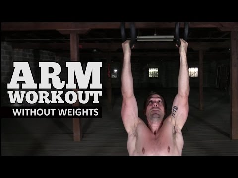 Arm Workout without Weights - Get BIGGER Arms with No Weights