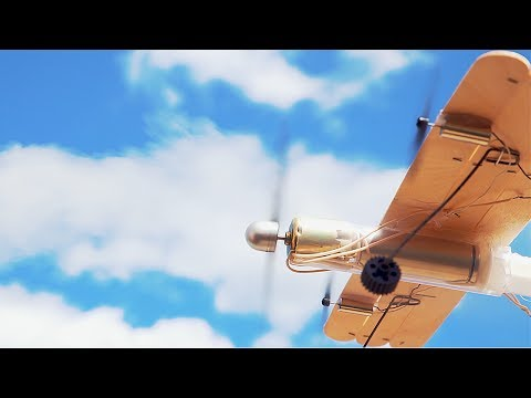 How to Make a Plane with DC Motor that can Fly