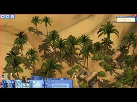 The Sims 3 - Desafio da Ilha Deserta (Ep. 18) - De volta ao Egito!