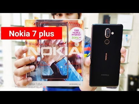 Nokia 7 Plus Unboxing & First impression !