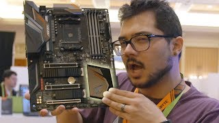 The ONLY X470 motherboard at CES