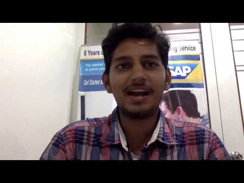 Pushpak Got Placed In Capgemini as SAP MM Certified Consultant By PRIMUS SAP ACADEMY