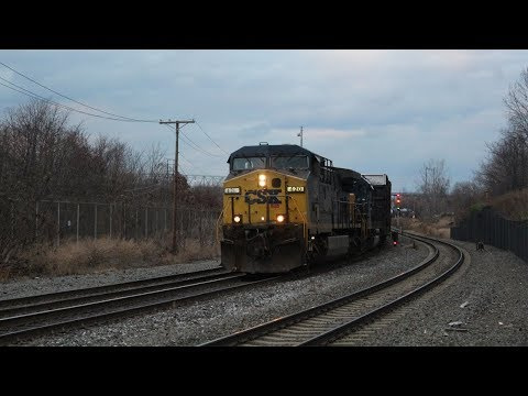A Great End to 2016 - South Jersey Railfanning December 2016