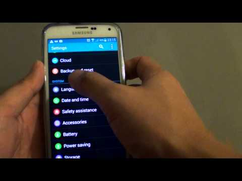 Samsung Galaxy S5: How to Change Input Language Type (Qwerty or 4x3 Keyboard)