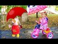 Download Stacy pretend play with peppa toy MP3,3GP,MP4