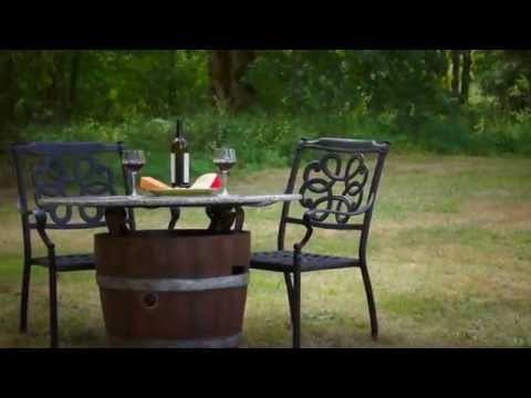Wine Barrel Fire Pit @ DiscountHearth.com