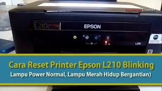 Reset Epson L360, L130, L310, L220, L365    Cara Download