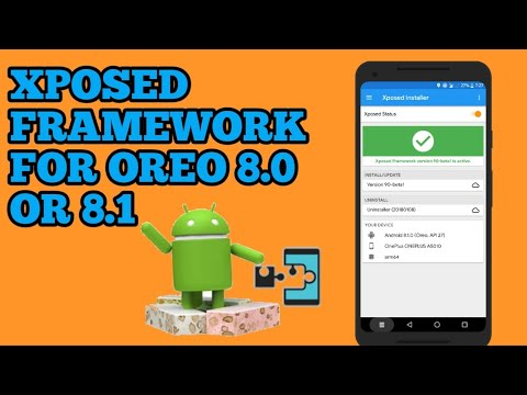 How to install xposed framework on oreo running 8.0 or 8.1 beta (tested on oneplus 5t)