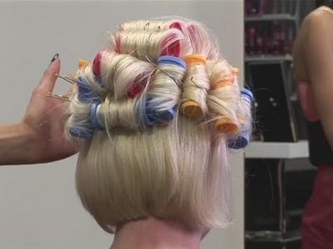 How To Put Your Hair In Hot Rollers