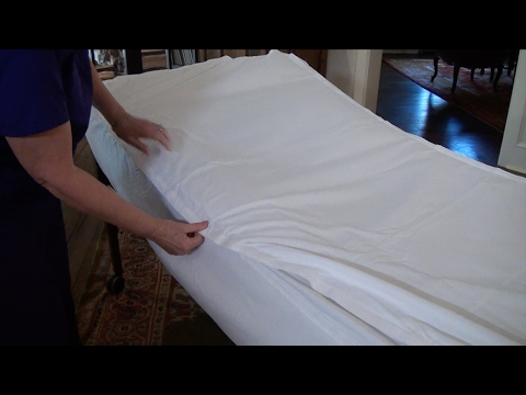 Simple Sheets: How to make the bed