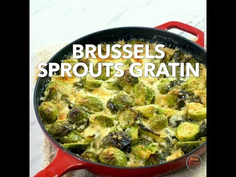 Brussels Sprouts Gratin - Out of this world!