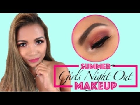 SUMMER GIRLS NIGHT OUT MAKEUP || COLLABORATION WITH REYA PINAY AND AIRAHMORENATV || + GIVEAWAY