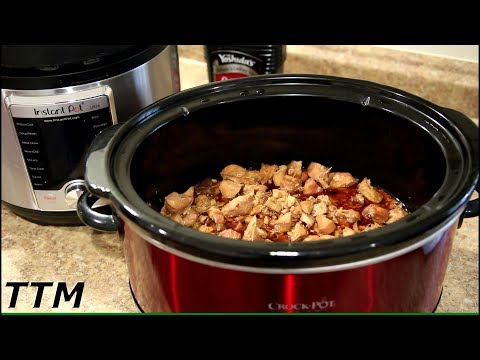 EASY Teriyaki Chicken Breast Slow Cooker