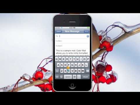 How to set font & font size of mail on iPhone/iPod Touch/iPad