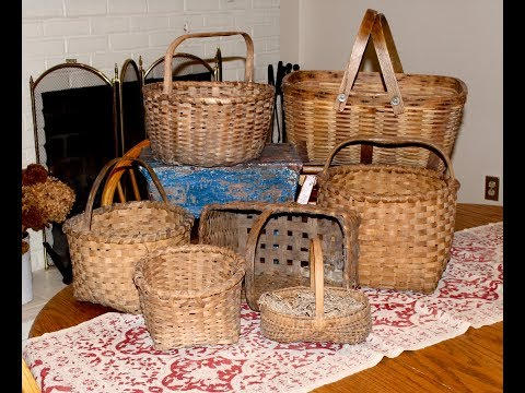 Collecting Antique Baskets by Dealer Deanna Moyers