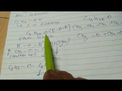 Isomerism calculations in 2 min.
