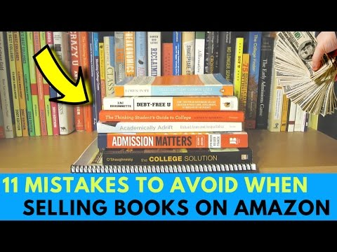 11 Mistakes To Avoid When Selling Books On Amazon FBA