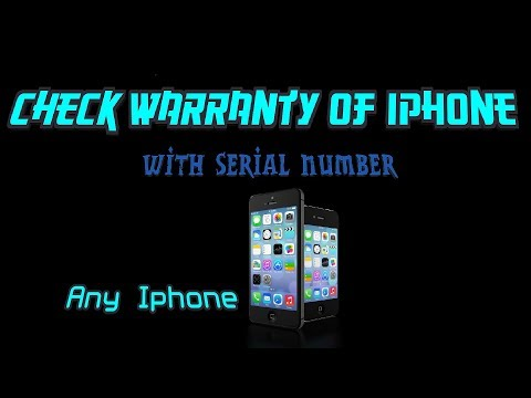 Check Warranty of Iphone With Serial Number