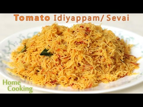 Tomato Idiyappam/ Sevai | Ventuno Home Cooking