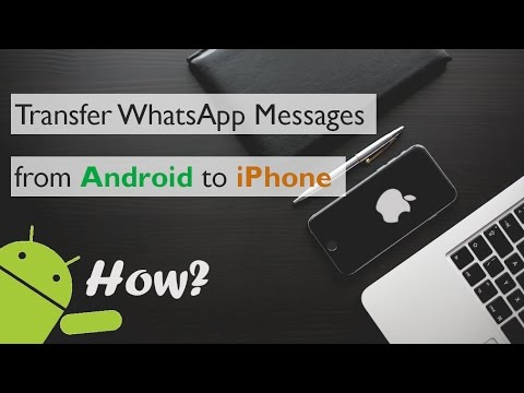 How to Transfer WhatsApp Messages and Chats from Android to iPhone 7 plus/6s plus/5s? [Solved]