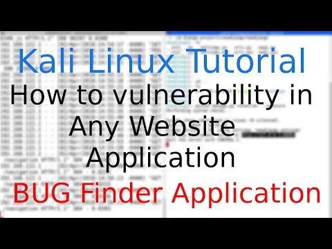 Kali Linux: Check vulnerability in any Website Application with web interface