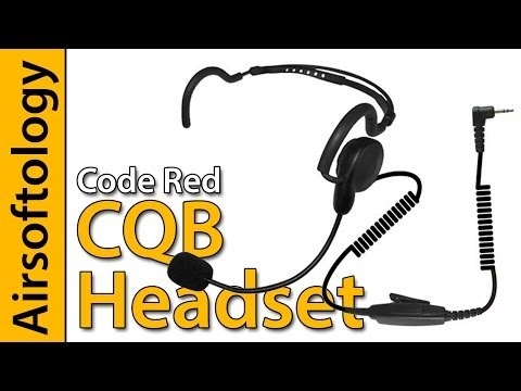 Pro Headset on a Budget? | Code Red CQB Headset Review | Airsoftology