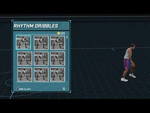 NBA 2K18 Attribute Upgrade! Unlocked Elite Rhythm Dribbles & Signature Moves