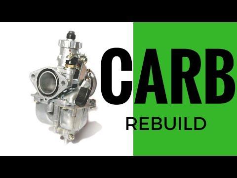 Pitbike Mikuni Carb Rebuild